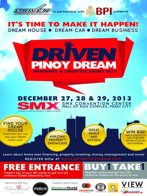 DRIVEN PINOY POSTER
