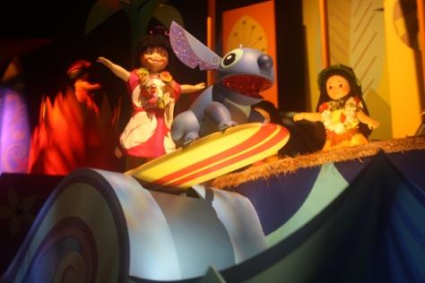 small world Disney Land