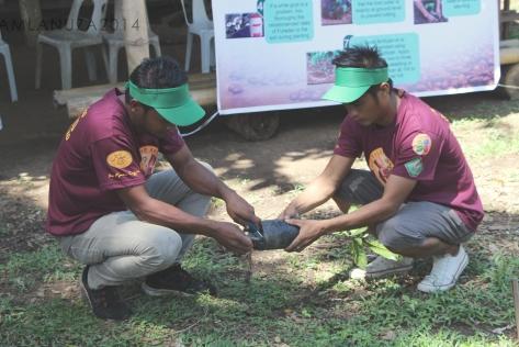 Planting Demo