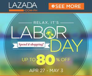 Lazada.com.ph celebrates Labor Day with P99 deals!