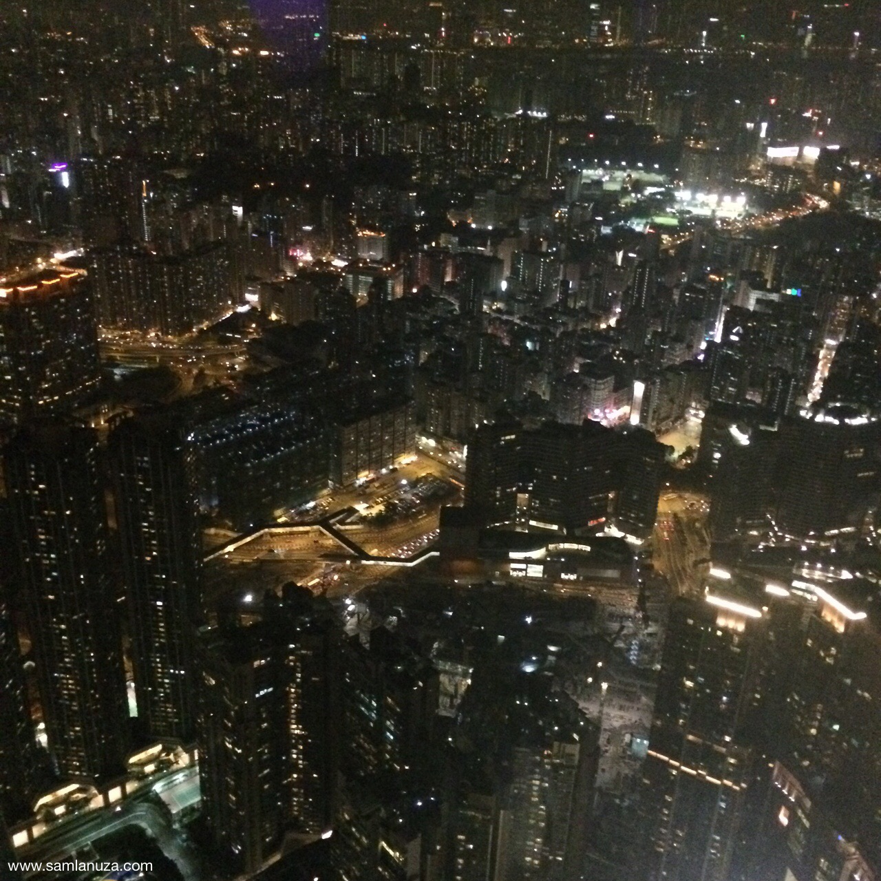 Kowloon at 393 meters high